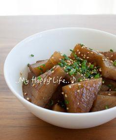簡単お弁当おかず!こんにゃくのピリッと甘辛炒め♪ by tomoさん ...旨味がないから和風だしをプラス