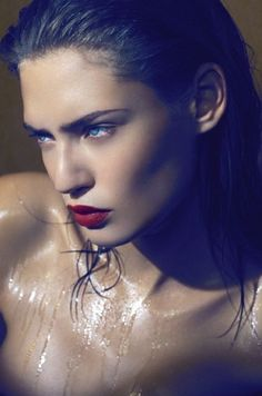 Bianca Balti.Beautiful and Sexy Ladies, Red Lips