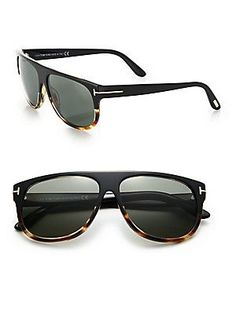 Tom Ford Eyewear Kristen 59MM Aviator Sunglasses