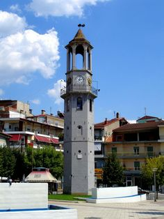 TRAVEL'IN GREECE | Clock tower, #Grevena, West Macedonia, #Greece, #travelingreece