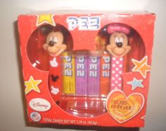 New PEZ Disney Mickey & Minnie Mouse Friends Forever Candy Dispensers