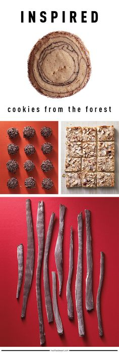 Wow, forest-inspired cookies at Martha Stewart