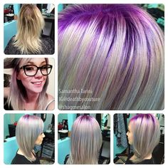 Purple and pastels | Modern Salon