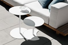 Drops by luxury outdoor furniture brand Tribù.