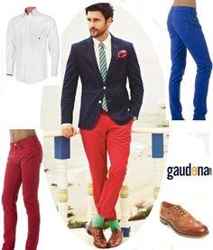 Pantalones de Color