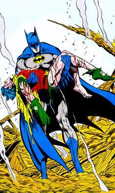 "(Batman Vol. 1 #428, December 1988) ""A Death In The Family, Part III"" - Jim Aparo & Mike DeCarlo"