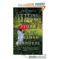 Cutting for Stone, Abraham Verghese. This book is fiction, but I'd like to imagine that the story is real. The character development is excellent and I have this on my mind to read again soon. I highly recommend this to anyone interested in medicine.