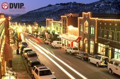 Main Street, Park City, Utah #DVIPinc #events