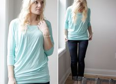 Would LOVE this teal-dolman-top from Stitch Fix