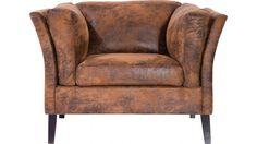 Loveseat Canapee - Vintage Eco is een gezellige kunstlederen stoel, breed genoeg voor 2 uit de collectie van Kare Design en is nu verkrijgbaar bij Furnies.nl voor €598,- !