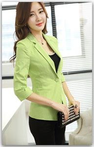 Fotos de trajes de chaqueta para mujer