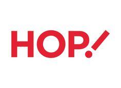 Air France presenta la nueva marca HOP!   #branding #diseño