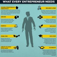 What every entrepreneur needs.