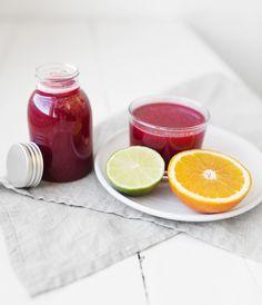 Blood orange, lime & beetroot juice | bon.se – Bons digitala hem.