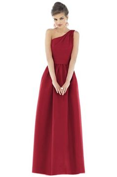 Shop Alfred Sung Bridesmaid Dress - D529 in Dupioni at Weddington Way. Find the perfect made-to-order bridesmaid dresses for your bridal party in your favorite color, style and fabric at Weddington Way.