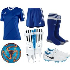 """""""Girls' Soccer Uniform"""" by eappah on Polyvore"""