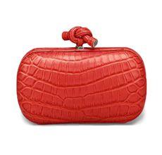 Editor's Pick: Bottega Veneta New Red Knot Clutch