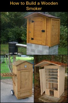 How to build a timber smoker – DIY projects for everyone!