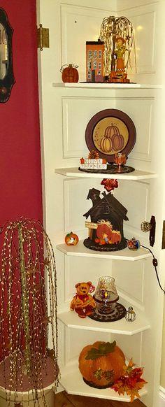 Fall Decor, Bookcase, Shelves, Home Decor, Shelving, Homemade Home Decor, Shelf, Open Shelving, Decoration Home