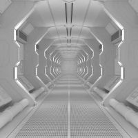 ▶ Blender Tutorial: Create a Spaceship Corridor in Blender - Part 1 of Spaceship Interior, Futuristic Interior, Futuristic Lighting, Futuristic Design, Blender 3d, Larp, Sci Fi Environment, Blender Tutorial, 3d Fantasy