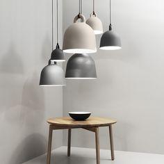 Normann Copenhagen Online shop, Australia. Buy Normann Copenhagen Bell Lamp Grey Medium.