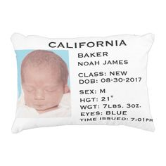 Drivers license philippines announcements pinterest drivers license baby announcement pillow will look adorable on any bed or sofa negle Gallery