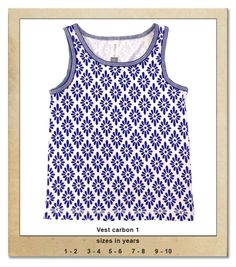 Sillybilly© clothing:  Vest carbon 1 Summer Collection, Tank Man, Vest, Girls, Clothing, Mens Tops, Blue, Fashion, Outfits
