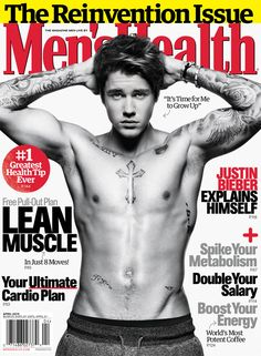 Justin Bieber looks swoonworthy on the cover of Men's Health!