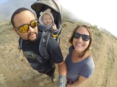 Family hike in Montara, California with the Wilkenfelds.