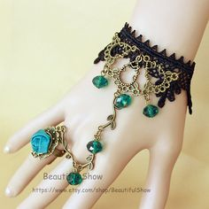 Women's & Girls Ring BraceletBronze Flower Vine by BeautifulShow, $9.99 Beautiful bride and bridesmaids flower charm bracelet. Beautiful wedding gift.