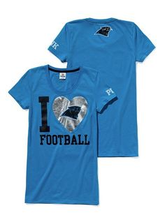 this shirt is a super cute idea! all you have to do is change the mascot inside the heart!