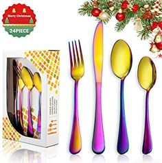 Amazon.co.uk: 24 piece cutlery sets