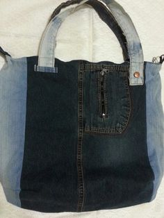 Fermuar lı  kot çanta1