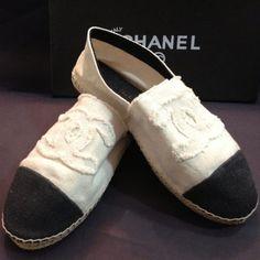 Alpargata Chanel inspered