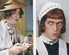 Mums the word, Laurie British Humor, British Comedy, British Men, British Things, Jeeves And Wooster, Famous Duos, Mums The Word, Drag King, Hugh Laurie