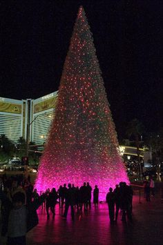 Vegas during the holidays.  Maybe for 2013