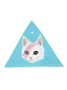 Bowie Cat by LILLY PIRI