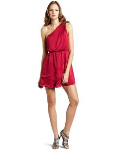 My dress. BCBG. Red Berry.