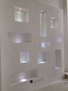 🌟 💖 🌟 💖 The wall of the of Plaster, of The 160 Images, How-to, Tips, Travel Niche Design, Wall Design, House Design, Flur Design, Ceiling Design, Modern Interior Design, Wall Shelves, Living Room Decor, Interior Decorating