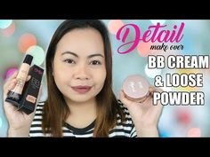 YouTube Loose Powder, Minerals, Product Review, Cream, Detail, Makeup, Youtube, Bb, How To Make