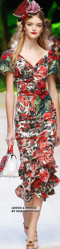 Dolce and Gabbana Spring-2017 Ready to Wear Collection Highlights