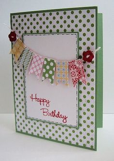 Stampin Up! Birthday Card - Crafting For Holidays