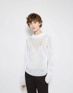 ISABEL MARANT Ziggy Linen Sweater