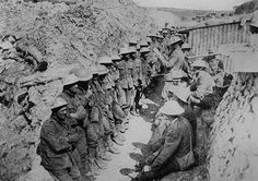 Battle of the Somme. The First Day. A Roll Call On The Afternoon Of The 1st July 1916. ©UK PhotoArchive