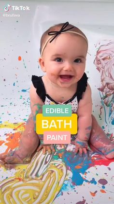 Baby Sensory Play, Baby Play, Toddler Learning Activities, Infant Activities, Baby Lernen, Baby Life Hacks, Baby Painting, Baby Games, Games For Babies
