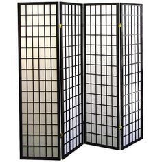 Shop for Shoji Style Room Divider with Wood Frame. Get free delivery at Overstock.com - Your Online Home Decor Outlet Store! Get 5% in rewards with Club O!