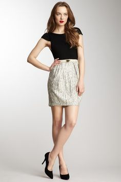 Alice and Olivia by Stacey - Poof Skirt Dress