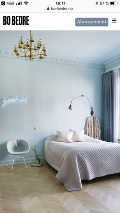 Grey and Blue Bedroom. Grey and Blue Bedroom. 33 Epic Navy Blue Bedroom Design Ideas to Inspire You Pale Blue Bedrooms, Light Blue Rooms, Blue Bedroom Walls, White Bedroom, Bedroom Colors, Girl Bedrooms, Bedroom Ideas, Pale Blue Walls, Bedroom Photos
