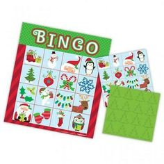 Advertisement - Christmas Bingo Party Game for 16 Players Childrens Party Games, Kids Party Games, Kid Party Favors, Christmas Bingo Cards, Christmas Games, Merry Christmas, Bingo Party, Party Fun, Office Xmas Party