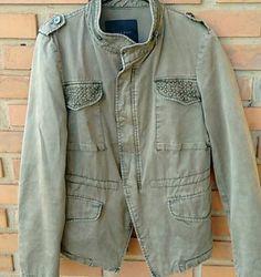jaqueta militar - casaquinhos zara